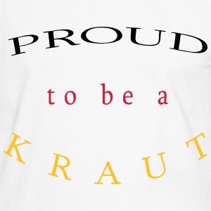 Proud to be a Kraut - Männer Kontrast-T-Shirt