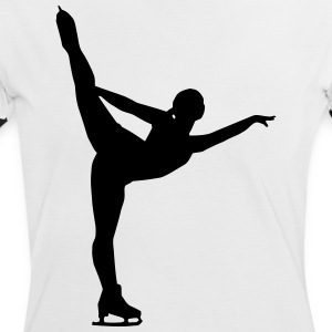 Figure Skating - Eiskunslauf T-Shirts - Frauen Kontrast-T-Shirt