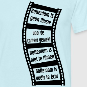 rotterdam_is_geen_illusie T-shirts - Mannen T-shirt