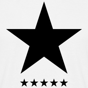 Blackstar, star, hero, music, rock, space, galaxy T-Shirts - Men's T-Shirt