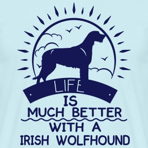 Irish Wolfhound T-Shirts - Men's T-Shirt