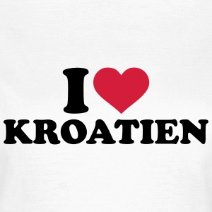I love Kroatien T-Shirts - Frauen T-Shirt