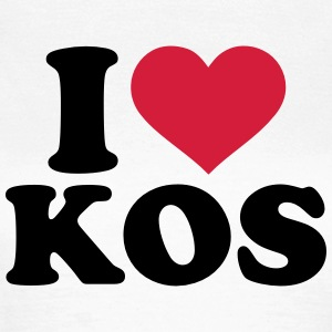 I love Kos T-Shirts - Frauen T-Shirt