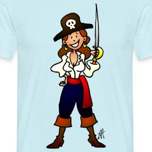 Pirate girl T-Shirts - Men's T-Shirt