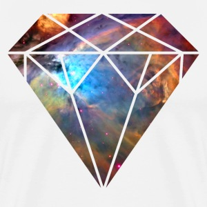 Space Diamond Galaxy - Men's Premium T-Shirt