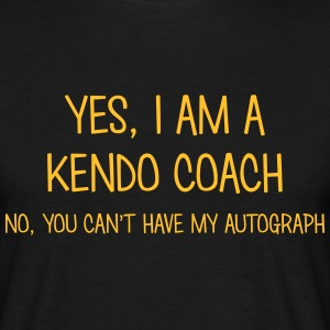 kendo coach yes no cant have autograph t-shirt - T-shirt Homme