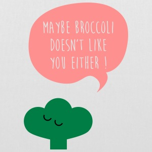 Broccoli doesn't like you Taschen & Rucksäcke - Stoffbeutel