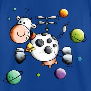 Cow on world tour Shirts - Kids' T-Shirt