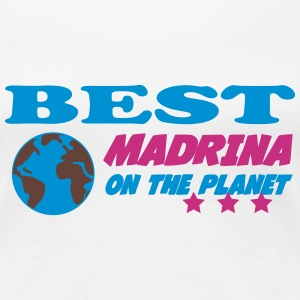 Best madrina on the planet Camisetas - Camiseta premium mujer