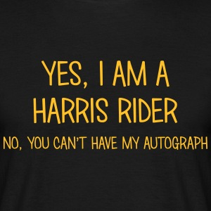 harris rider yes no cant have autograph t-shirt - Men's T-Shirt