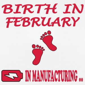 Birth in february T-Shirts - Frauen Premium T-Shirt
