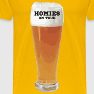 Homies on Tour T-Shirts - Männer Premium T-Shirt