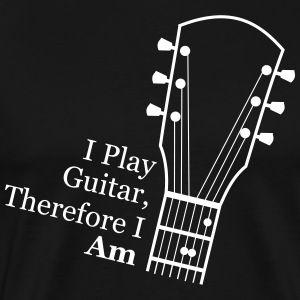 I play guitar T-Shirts - Men's Premium T-Shirt