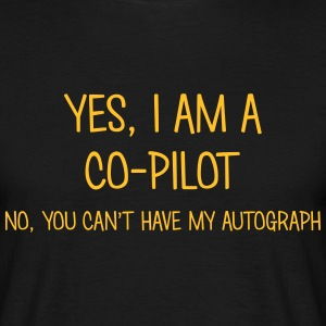 copilot yes no cant have autograph t-shirt - T-shirt Homme
