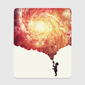 The universe in a soap-bubble - phone Case  Autres - Tapis de souris (format portrait)