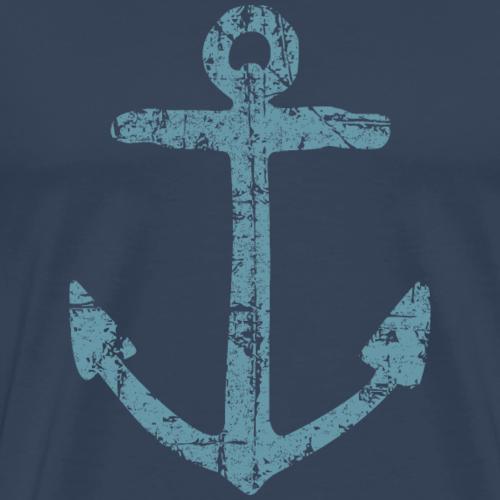 Anker Vintage (Blau) Segel Design