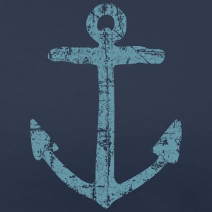 Anchor Vintage (Blue) Sailing Design for Sailors T-Shirts - Women's Premium T-Shirt