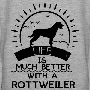 Rottweiler Sweat-shirts - Sweat-shirt à capuche Premium pour femmes