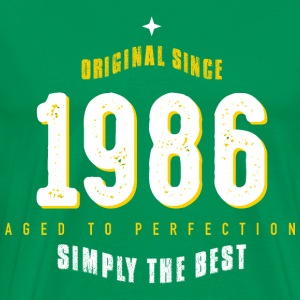 original since 1986 simply the best 30th birthday - Männer Premium T-Shirt