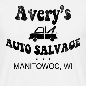 Avery's Auto Salvage t-shirt - Men's T-Shirt