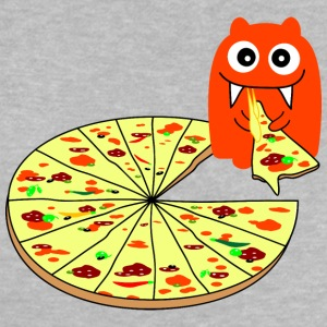 Monster Pizza Babytröjor - Baby-T-shirt