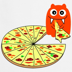 Monster Pizza Kookschorten - Keukenschort