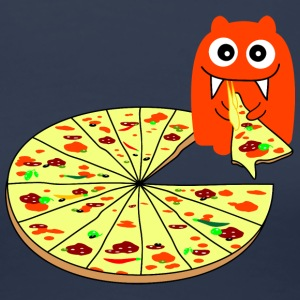 Monster Pizza T-Shirts - Women's Premium T-Shirt