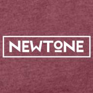 Motiv ~ NewTone Crew Frauen T-Shirt gerollter Arm