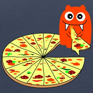 Monster Pizza Toppar - Premiumtanktopp dam