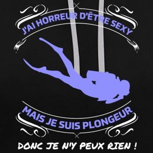 Plongeur sexy  Sweat-shirts - Sweat-shirt contraste