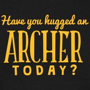 have you hugged an archer today t-shirt - Men's T-Shirt