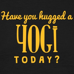 have you hugged a yogi today t-shirt - T-shirt Homme