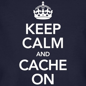 Keep Calm And Cache On T-Shirts - Men's Organic T-shirt
