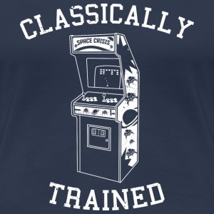 Classically Trained - Arcade - Women's Premium T-Shirt