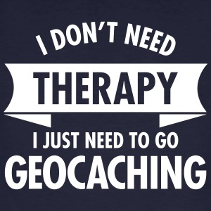 Therapy - Geocaching T-shirts - Mannen Bio-T-shirt