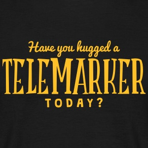 have you hugged a telemarker today t-shirt - Men's T-Shirt