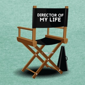 Director of my life T-Shirts - Women's T-shirt with rolled up sleeves