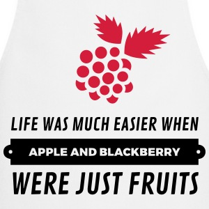 When cell phones were just fruits!  Aprons - Cooking Apron