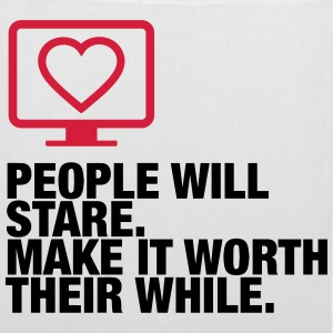People will always stare! Bags & Backpacks - Tote Bag