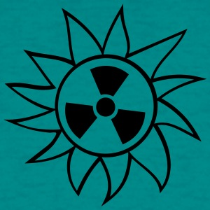 radioactive atomic bomb radiation rays uranium sun T-Shirts - Men's T-Shirt