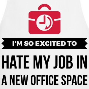 My great office. My crappy job!  Aprons - Cooking Apron
