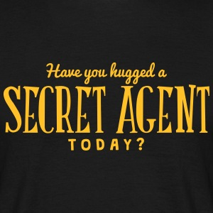 have you hugged a secret agent today t-shirt - T-shirt Homme