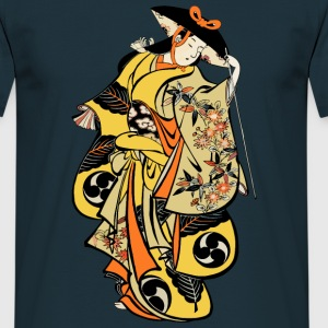 Edo Kabuki Actor T-Shirts - Men's T-Shirt