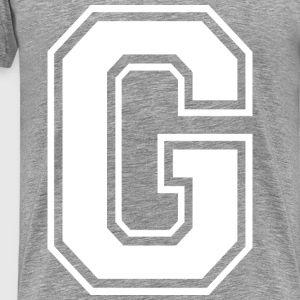 Grime Apparel G Grey Shirt. - Men's Premium T-Shirt