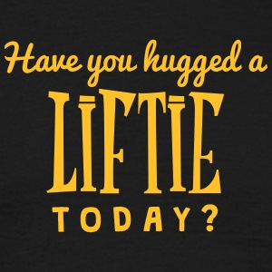 have you hugged a liftie today t-shirt - T-shirt Homme