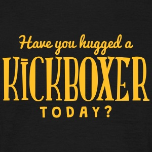 have you hugged a kickboxer today t-shirt - Men's T-Shirt