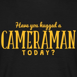 have you hugged a cameraman today t-shirt - Men's T-Shirt