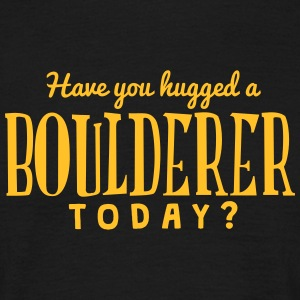 have you hugged a boulderer today t-shirt - Men's T-Shirt