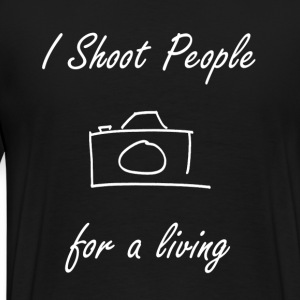 Shoot People - Mannen Premium T-shirt