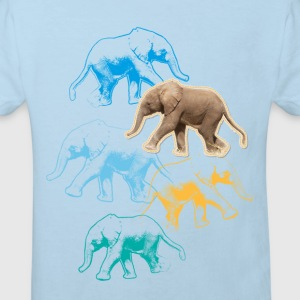 Animal Planet Elephants Kid's T-Shirt - Kids' Organic T-shirt